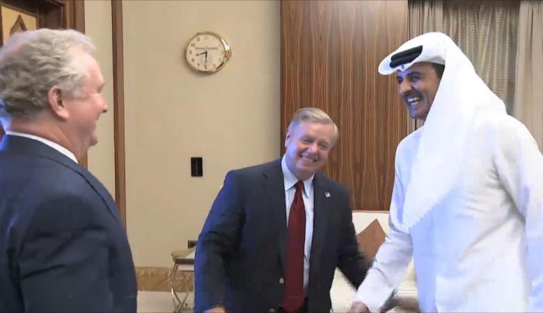 امير قطر يبحث تعزيز النعاون مع الولايات المتحدة