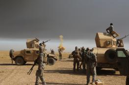 الجيش يتقدم جنوب الموصل عقب وصول تعزيزات