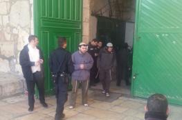 139 مستوطنًا وطالبًا يهوديًا يقتحمون باحات الاٌقصى