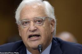 """الولايات المتحدة للفلسطينيين: ردكم على قرارنا حول القدس """"قبيح """""""