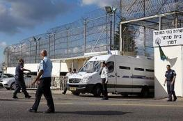 استمرار إغلاق أقسام سجن نفحة بعد الاعتداء على 80 أسيراً الأسبوع الماضي