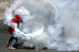 قوات الاحتلال تستخدم قنابل غاز لم يعهدها الفلسطينيون في قرية دير نظام برام الله