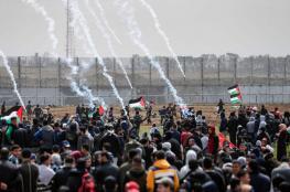 إحصائية تفصيلية لشهداء وجرحى مسيرة العودة على حدود غزة