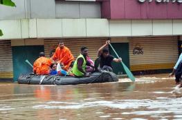 نصف مليون نازح في أسوء فيضانات ضربت ولاية هندية