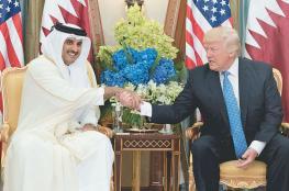 ترامب يدعو أمير قطر لزيارة واشنطن إبريل القادم