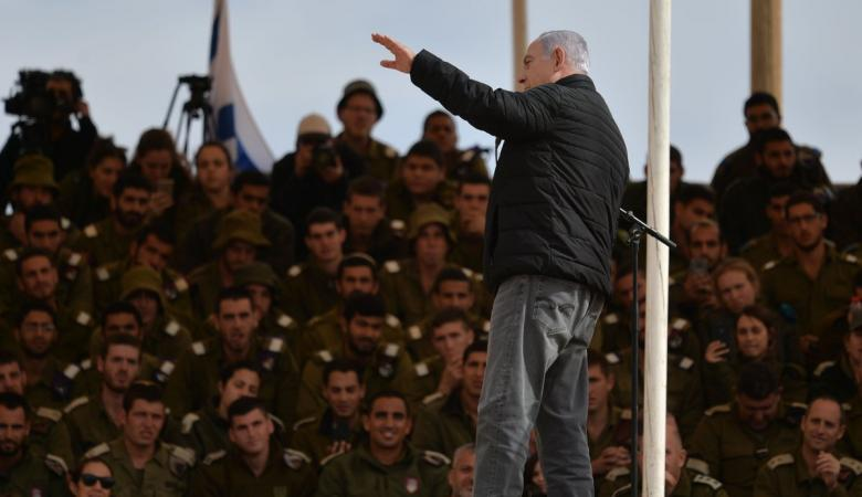 نتنياهو يتوعد الفصائل بغزة بضربة شديدة في حال لم يتحقق الهدوء