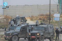 اصابات بمواجهات مع الاحتلال شمال البيرة