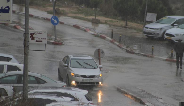 فلسطين على موعد مع منخفض جديد محمل بالأمطار