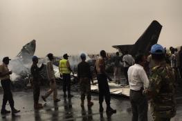 """مقتل """"44"""" راكبا في تحطم طائرة في جنوب السودان"""