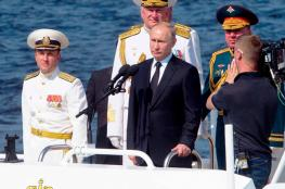 بوتين: القوات البحرية الروسية قادرة على صد أي معتد