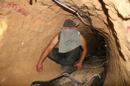 مصر دمرت 67 نفقا على حدودها مع رفح خلال شهرين