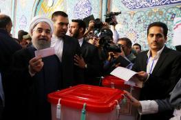 روحاني يتصدر الانتخابات الرئاسية الايرانية