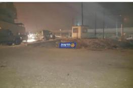 تعرض مستوطنة بيت ايل شمال رام الله لاطلاق نار (صور )