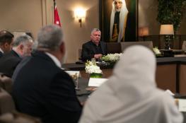 العاهل الاردني : لا حل للقضية الفلسطينية الا من خلال حل الدولتين