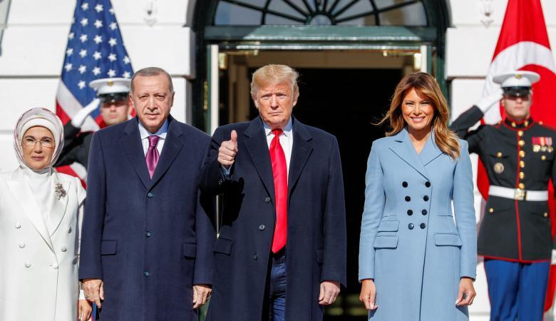 ترامب يشكر أردوغان على استضافة بلاده ملايين اللاجئيين