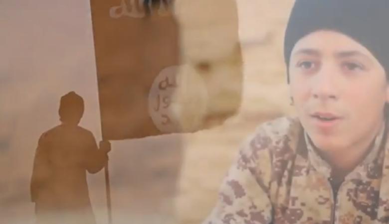 داعش يبث اصدارا مروعا جديداً لاطفال يذبحون 3 سوريين