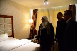 تحويل فندق جراند بارك الى مركز حجر صحي في رام الله