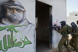 شاهد ..الجيش الاسرائيلي يبني قرية حزب الله بالجولان