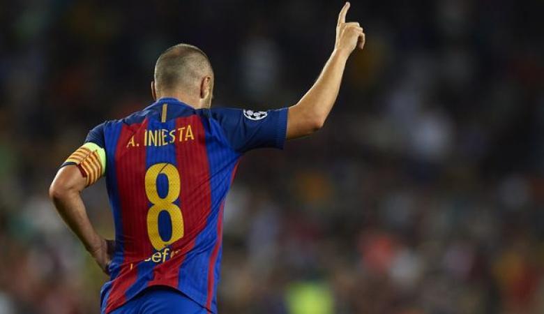 انييستا يرفض العودة الى برشلونة