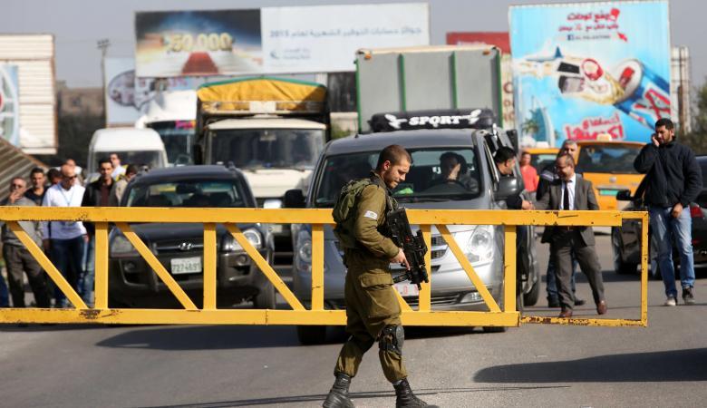 """""""اسرائيل  """" تقرر فرض اغلاق شامل على الضفة الغربية"""