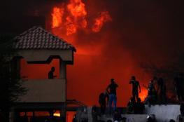 هجوم صاروخي يستهدف السفارة الامريكية في العراق
