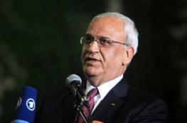 عريقات : نرحب بتصريحات بان كي مون ويجب محاسبة أسرائيل