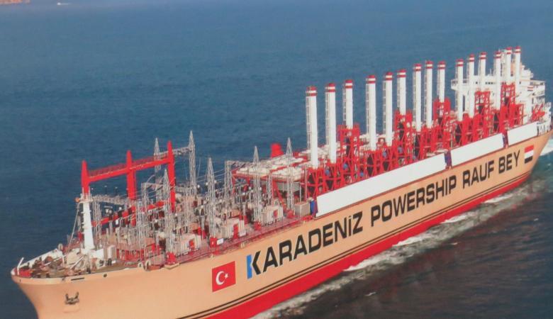 سفن تركية تزود لبنان بالكهرباء حتى عام 2021