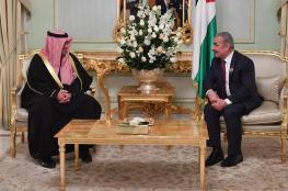 اشتيه ووزير الداخلية الكويتي يبحثان سبل التعاون