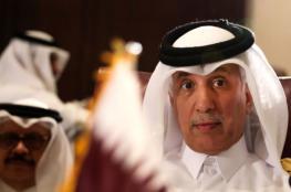وزير قطري يصل العاصمة السعودية الرياض