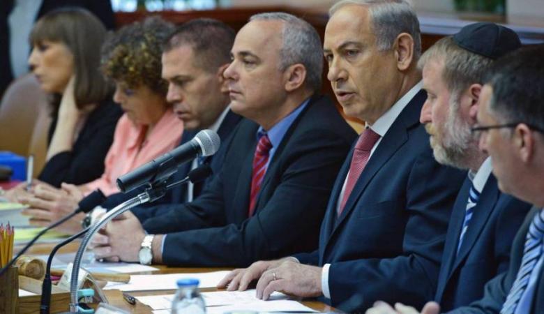 """الحكومة الإسرائيلية توافق على """"الكابينت"""" الجديد"""