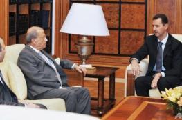 الرئيس اللبناني يمد يده إلى الأسد بموافقة وإجماع دولي