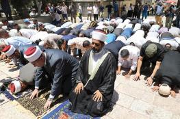 مفتي القدس ينفي الفتوى المنسبوبة اليه حول الأقصى