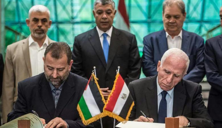 نتيجة بحث الصور عن المصالحة الفلسطينية