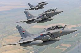 الجيش المصري يهاجم بالطيران مسلحين في شمال سيناء