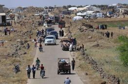 """فرار 330 ألف سوري من درعا السورية  وبدء """"أكبر"""" عملية نزوح"""