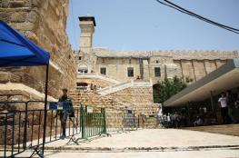 مخطط إسرائيلي لتهويد المسجد الإبراهيمي