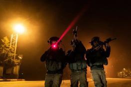 الاحتلال يعتقل 9 مواطنين من الضفة الغربية