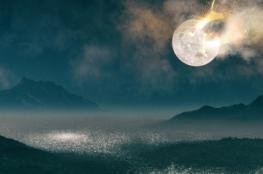 العلماء يحددون موعد سقوط القمر على الأرض..
