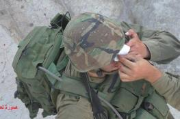 اصابة جندي اسرائيلي غرب رام الله