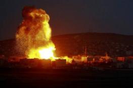 الطيران الاسرائيلي يقصف مواقع للقسام في غزة