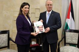 الحمد الله يتسلم تقرير التعداد العام للمخيمات والتجمعات الفلسطينية في لبنان