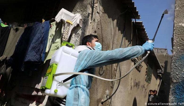 المكتب الإعلامي بغزة: لم نغادر مربع الخطر بدخول فيروس كورونا للقطاع
