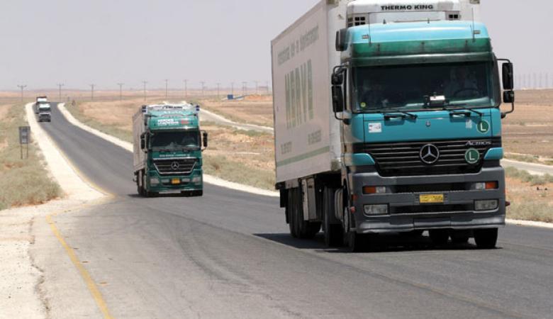 الاردن يرسل قافلة مساعدات الى قطاع غزة
