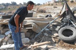 جرافات الاحتلال تهدم قرية العراقيب للمرة  الـ141 على التوالي.