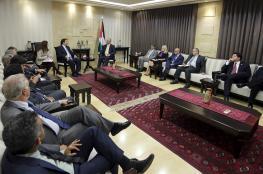 الحمد الله : الاستيطان والاحتلال الاسرائيلي يمنع تحقيق حل الدولتين