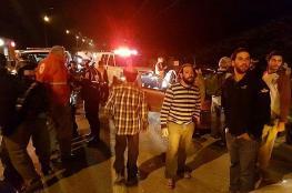 المستوطنون يحتشدون على مدخل بيتا جنوب نابلس