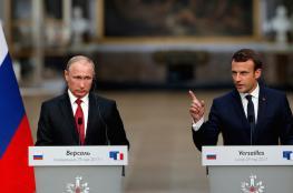 رئيسا فرنسا وروسيا يزوران فلسطين خلال أيام