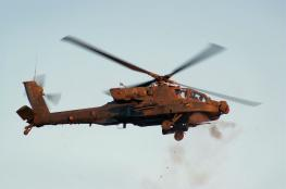 """طائرات اباتشي مصرية تقتل """" 10 """" مسلحين في سيناء"""