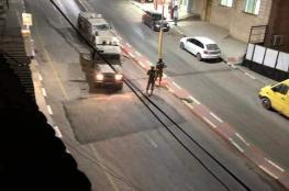 20 اصابة في اقتحام الاحتلال لعزون شرق قلقيلية