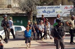 مستوطنون يتظاهرون في حوارة وسط حراسة مشددة